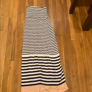 Old navy strapless maxi dress S tall